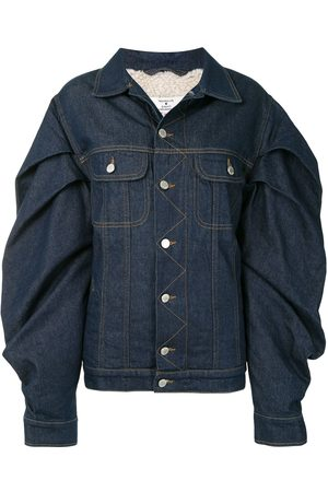 Natasha Zinko Oversized sleeves denim jacket