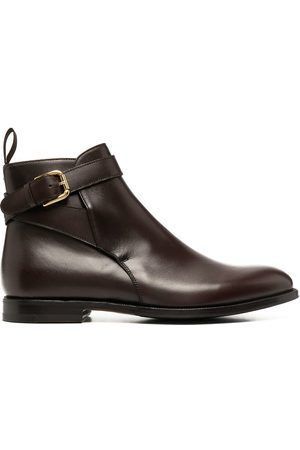 Scarosso Buckle-fastening ankle boots