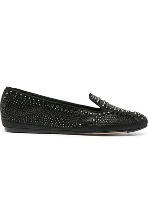 LE SILLA Dixie stud-embellished slippers