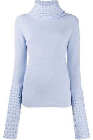TEMPERLEY LONDON Honeycomb knitted jumper