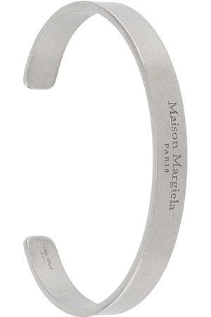 Maison Margiela Men Bracelets - Logo-engraved cuff bracelet