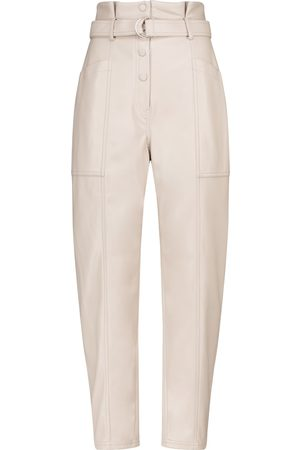 JONATHAN SIMKHAI Leela faux leather slim pants