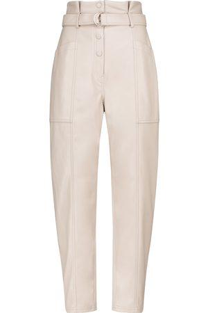 JONATHAN SIMKHAI Leela faux leather slim pants