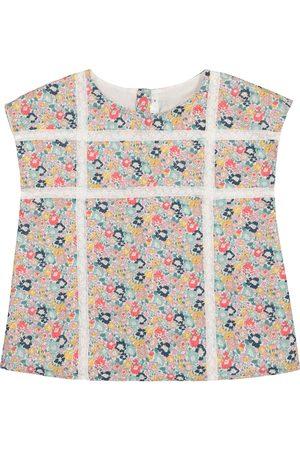 BONPOINT Suzie floral cotton top