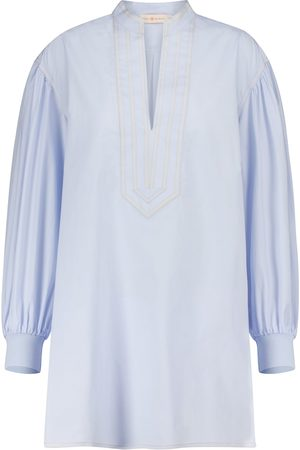 Tory Burch Cotton tunic blouse