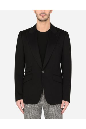 Dolce & Gabbana Coats and Blazers - DECONSTRUCTED CASHMERE SICILIA-FIT JACKET male 44