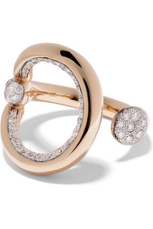 Pomellato 18kt rose gold Fantina diamond ring