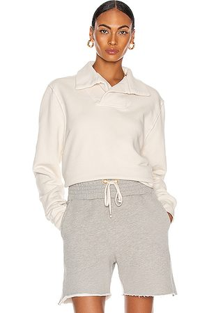 Les Tien Yacht Pullover in Ivory
