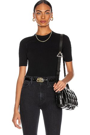 DION LEE Women T-shirts - Lustrate Rib Tee in
