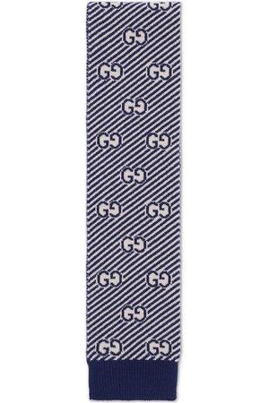 Gucci GG intarsia-knit scarf