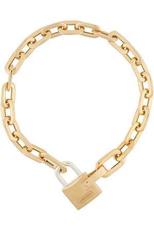 AMBUSH Bracelets - Small padlock chain bracelet