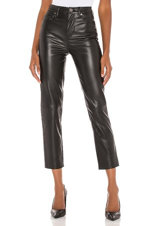 BLANK NYC Vegan Leather Straight Leg Pant in . Size 25, 26, 27, 28.