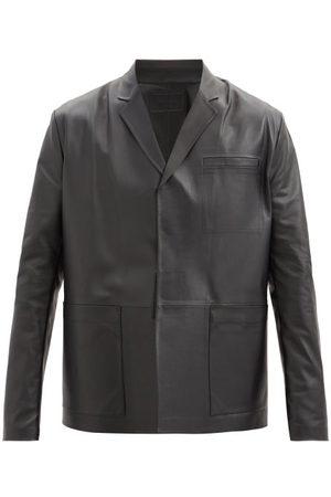 Prada Leather Jacket - Mens