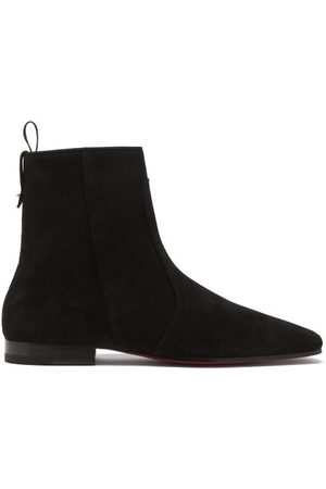 Christian Louboutin Cardaboot Suede Boots - Mens