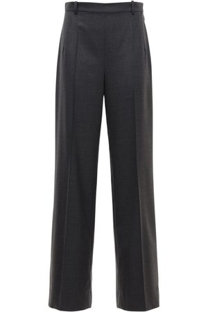 The Row High Waist Wool Gabardine Pants