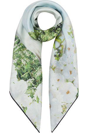 Burberry Meadow-print silk scarf