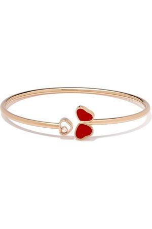 Chopard 18t rose gold Happy Hearts bracelet