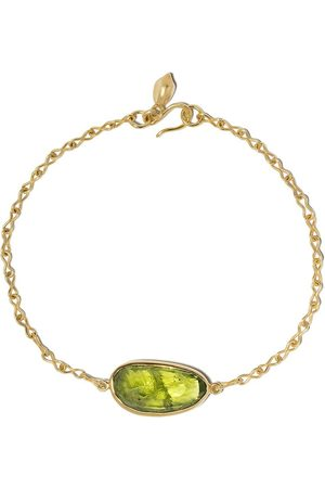 Pippa Small 18kt yellow peridot bracelet