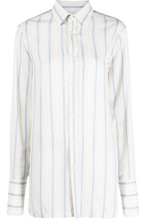 Maison Margiela Long-sleeved striped shirt
