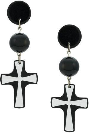 AMIR SLAMA Cross earrings