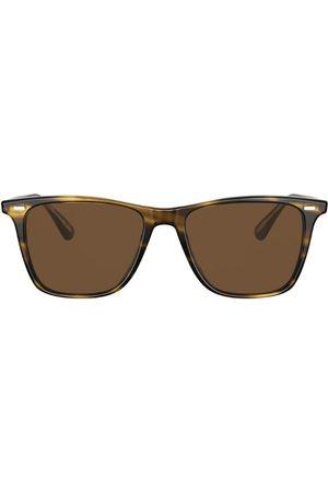 Oliver Peoples Tortoiseshell Ollis Sun Sunglasses