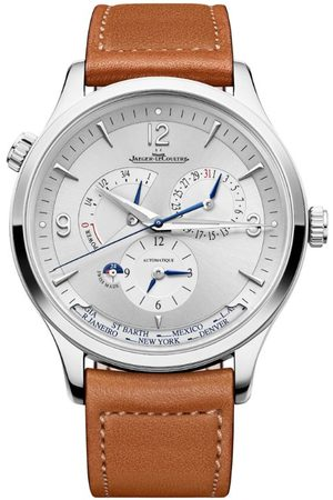 Jaeger-LeCoultre Stainless Steel Master Control Geographic Watch 40mm