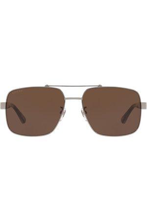 Gucci Men Sunglasses - Metal Pilot Sunglasses