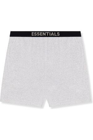 FEAR OF GOD Men Shorts - Mélange Cotton-Blend Jersey Shorts