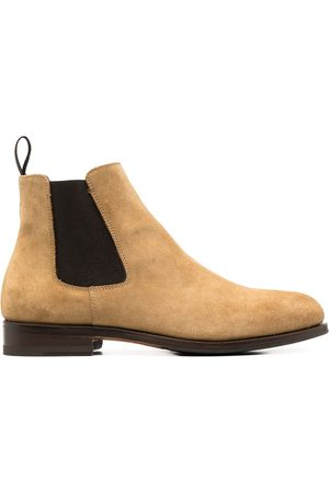 Scarosso Ankle-length suede boots - Neutrals