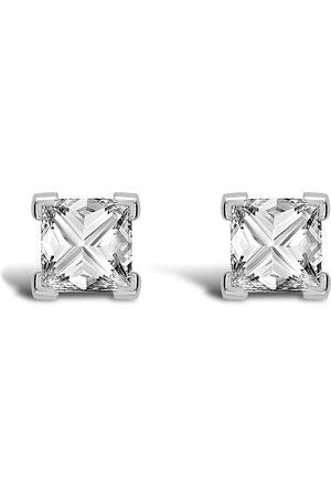 Pragnell Women Earrings - 18kt white gold RockChic diamond solitaire earrings