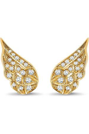 Pragnell 18kt yellow diamond Tiara earrings