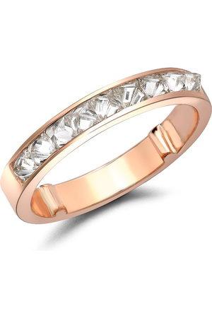 Pragnell 18kt rose gold RockChic half-eternity diamond ring