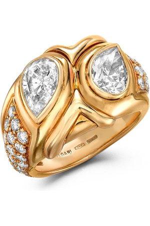 Bvlgari Pre-Owned Women Rings - 1961 18kt yellow Present Day Bvlgari diamond ring