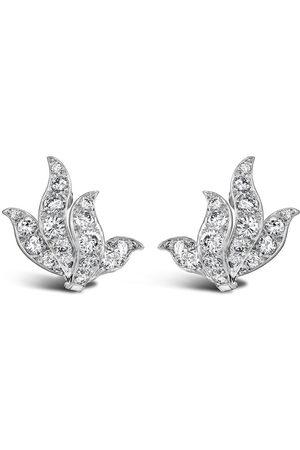 Van Cleef & Arpels 1941 - 1960 platinum diamond stud earrings