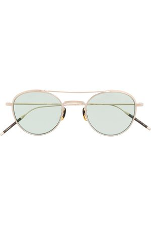 Oliver Peoples Sunglasses - Takumi 2 aviator-frame sunglasses
