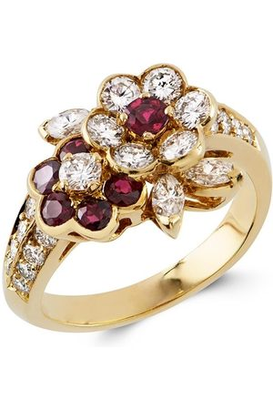 Van cleef 1961 Present Day diamond and ruby ring