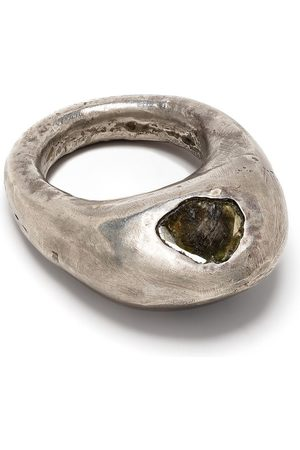 PARTS OF FOUR Tall Mountan ring - Metallic