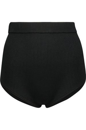 SIR Agnes ribbed-knit briefs