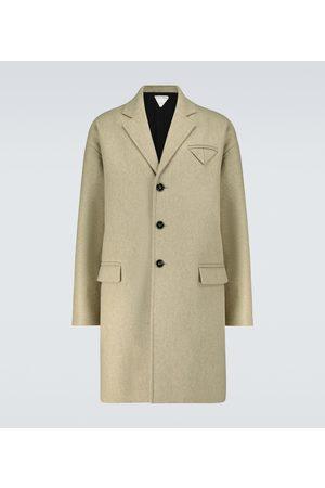 Bottega Veneta Wool-blend single-breasted coat