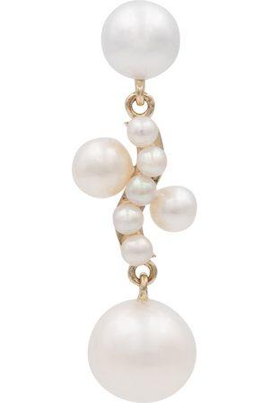 SOPHIE BILLE BRAHE Petite Ocean Perle 14kt single earring with pearls