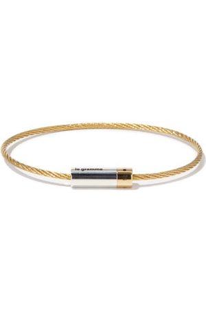 Le Gramme 9g Cable 18kt Bracelet - Mens