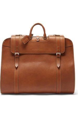 Brunello Cucinelli Grained-leather Garment Bag - Mens