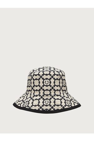 Salvatore Ferragamo Women Gancini Galoure bucket hat
