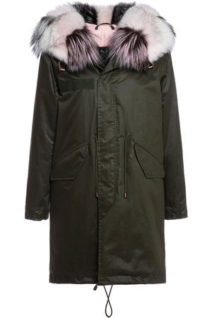 Mr & Mrs Italy Classic Jazzy Parka For Woman With Fox Fur