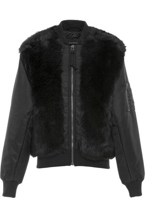 Mr & Mrs Italy Nick Wooster Unisex Nylon Bomber With Shearling