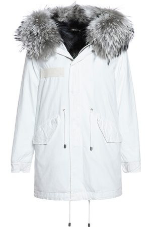 Mr & Mrs Italy Jazzy Parka Midi For Woman With Raccoon Fur