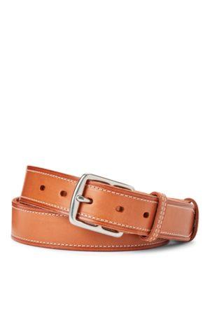 Polo Ralph Lauren Topstitched Leather Belt