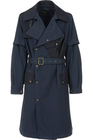 Mr & Mrs Italy Trench Coats - Nick Wooster Capsule Unisex Trench In Cotton