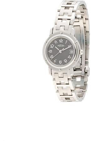 Hermès Women Watches - Pre-owned Clipper Date 25mm