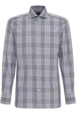 Tom Ford Oxford Check Cotton Shirt